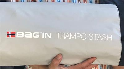 Bag'in trampo stash logo